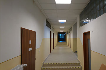 Poprad District Office, Client center - construction work