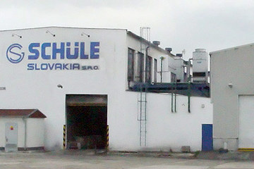 Schüle Slovakia, s. r. o. – production development