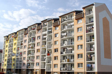 Multiple dwelling house 86 housing units - JUH in Poprad