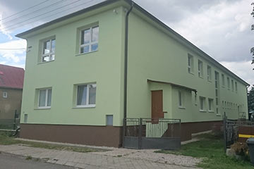 Insulation of the Hozelec Kindergarten