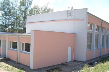 Reconstruction of a primary school in Pohorelá